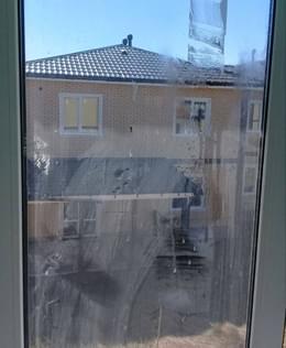 Окна до мытья